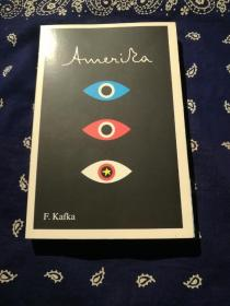 《 Amerika: The Missing Person: A New Translation, Based on the Restored Text 》 卡夫卡:《美国》(德译英新译本,翻口毛边平装本)