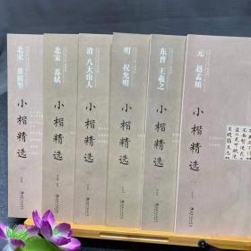 中国古代书家小楷精选  全六册