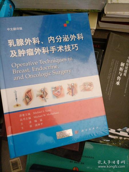 乳腺外科、内分泌外科及肿瘤外科手术技巧(中文翻译版)