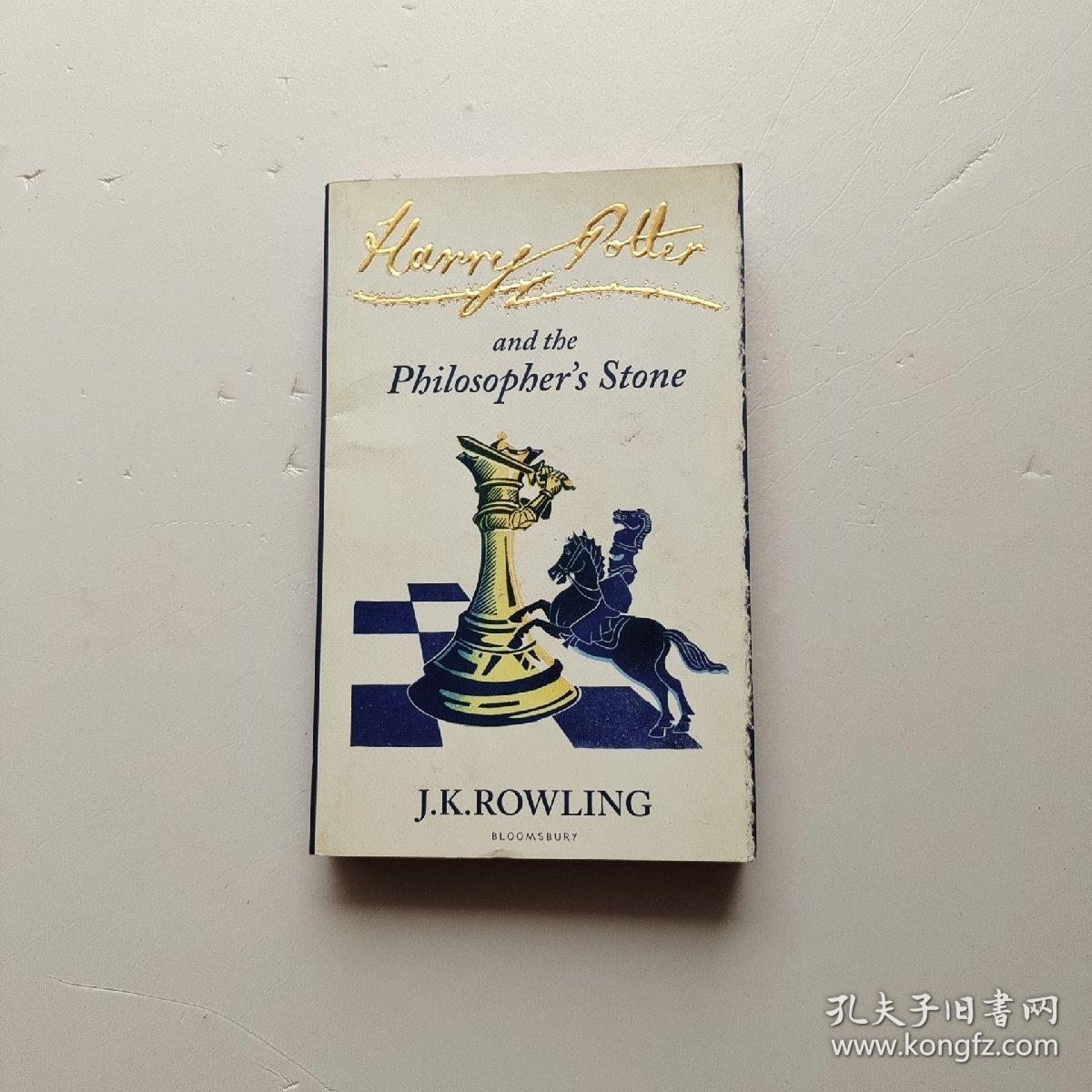 Harry Potter and the Philosopher's Stone哈利波特与魔法石