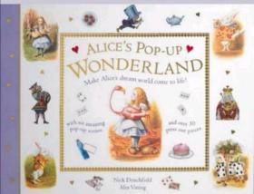 爱丽丝立体书 英文原版 alice in wonderland