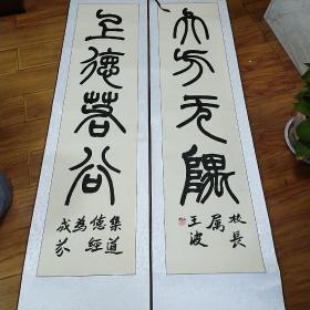 中国书法家协会会员  王波  书法
