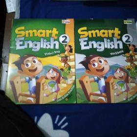 Smart  English  StudentBook  2 + Smart  English  Workbook  2+ 两张光盘