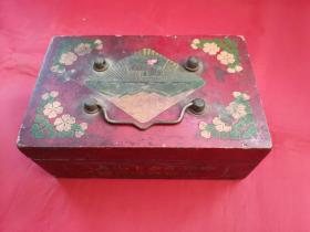 文革时期知青上山下乡用的梳妆盒