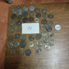神奇宝贝游戏币铜币 39个,银币 6个【共计45个,不重复】