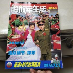 《解放军生活》2004年第2 3 4 5 6 8 9 10 11 12期(共10本)