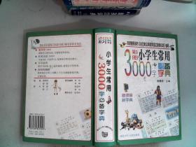 彩图小学生常用3000字必备字典