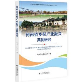 河南省乡村产业振兴案例研究
