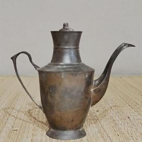 1872民国铜壶铜酒壶