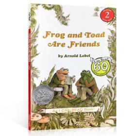 汪培珽推荐第三阶段书单An I Can Read  Level 2 Frog and Toad are Friends 青蛙和蟾蜍是朋友进口英文原版正版书 趣味读物送音频