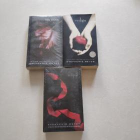 The Twilight Saga ——Twilight(暮色)、New Moon(新月)、Eclipse(日食))3本合售 2本全新未拆封