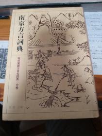 南京方言词典(现代汉语方言大词典 分卷)书干净,无笔迹,印记(二刷)