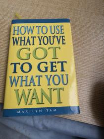 HOW TO USE  WHAT YOU'VERY  GOT  TO GET  WHAT  YOU  WANT