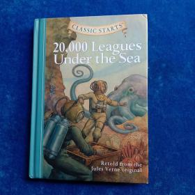 Classic Starts: 20,000 Leagues Under the Sea儒勒·凡尔纳《海底两万里》9781402725333