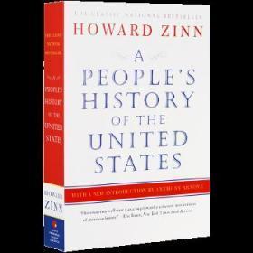 美国人民的历史 英文原版 Perennial Classics: A People's History of the United States