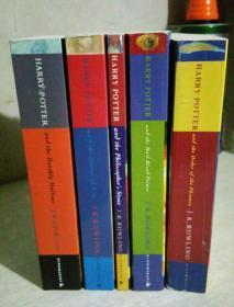 哈利波特,英文版,HARRY POTTER,五本合售