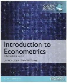 Introduction to Econometrics, Update, Global Edition9781292071312James H. Stock