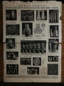●怀旧文革老报纸:《涪陵地区出土文物专辑》【1972年7月1日2开二版】!