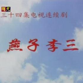 原盘电视剧1998燕子李三张立版 34集 盒装5碟 DVD5碟片 碟片