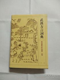 武汉方言词典(现代汉语方言大词典 分卷)书干净,无笔迹,印记(二刷)