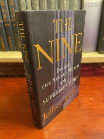 英文原版 the nine . inside the secret world of the supreme court 九人:最高大法院内幕世界