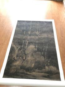 南唐 徐熙  雪竹图  99.2*151.1厘米  微喷印制。  330元包邮。画心。可以预定裱卷