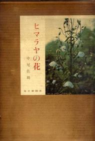 喜马拉雅的花    ヒマラヤの花 : 写真集    253幅写真   日文原版   精装  中尾佐助 著、毎日新闻社、194p (図版 解说共)、27cm