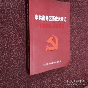 中共南开区历史大事记