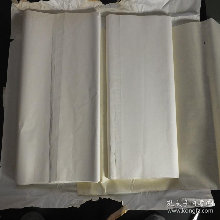 日本90年代老宣纸手漉宣纸137*70cm2刀130张书画用宣纸 N1143