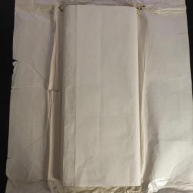 日本70年代老宣纸高级手漉宣纸137*70cm60张书画用宣纸 N1144