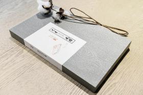 盒装 仿古笺纸《萝轩变古笺》遗赠八种(宣纸喷彩,每幅3张,共24张)