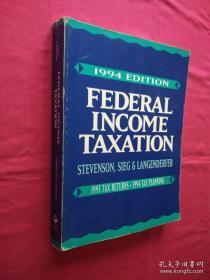FEDERAL INCOME TAXATION 1994EDITION