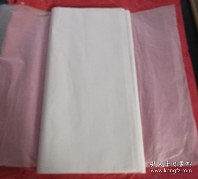 日本90年代老宣纸高级手漉宣纸180*60cm34张夹宣书画用宣纸 N1137