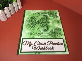 精灵语练习簿笔记本My Elvish Practice Workbook
