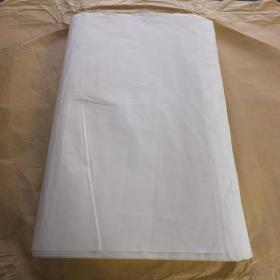 中国老宣纸 尺八227*53cm 78张 棉连单宣 书画用宣纸 N1133