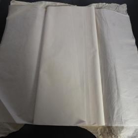 日本80年代老宣纸 特选夹宣137*70cm22张书画用宣纸 N1138