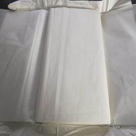 日本90年代老宣纸特级手漉宣纸242*60cm50张书画用宣纸 N1139