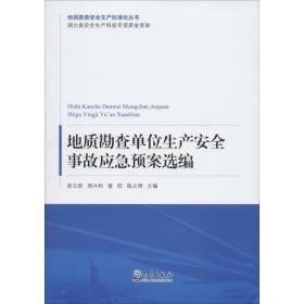 地质勘查单位生产安全事故应急预案选编/地质勘查安全生产标准化丛书