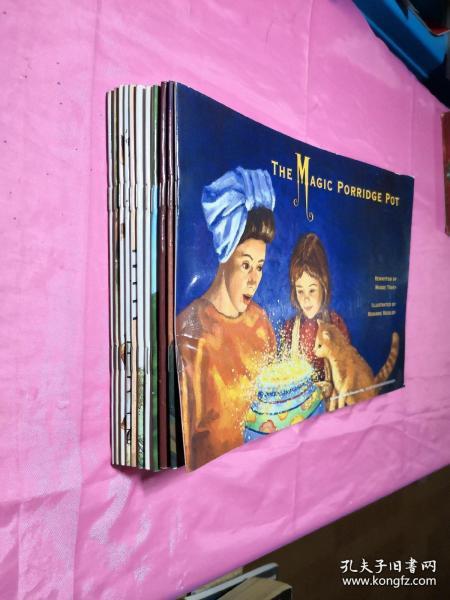 新东方旗下高端品牌迈格森国际教育英文彩色图画16开少儿读物【11册合售】
