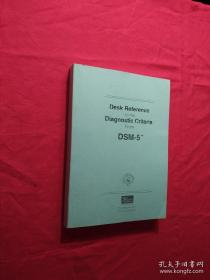 Desk Reference to the Diagnostic Criteria from DSM-5(TM)(复印本)