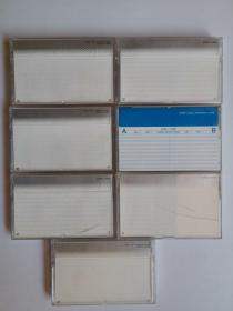 索尼老式磁带6盒,干净、无写划