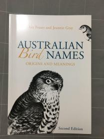 Australian bird names origins and meanings澳大利亚鸟类名称词源解 Birds