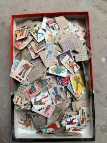 80年代90年代游戏牌游戏卡 变形金刚 西游记 水浒传等游戏牌,600-700张,多数都是变形金刚