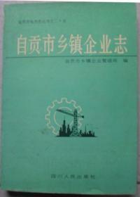 《自贡市乡镇企业志》(硬精装) 自贡市地方志丛书之二十五