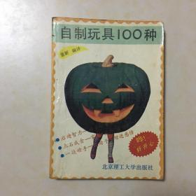 自制玩具100种 童新编译 封面设计 庞金玲