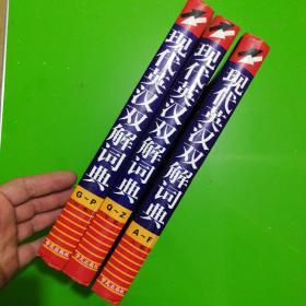 现代英汉双解词典(上中下)