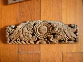 民国雕刻板(住房或床檐自鉴)【较厚实】