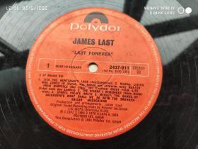 外文原版黑胶老唱片:Polydor---James Last