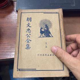 胡文忠公全集 (全四册)
