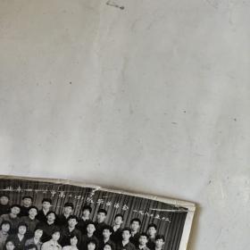 北京四十三中高二(5)班毕业留念(43中1980年合影照片)